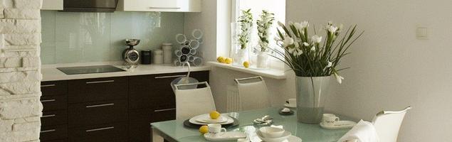 Aranżacje kuchni z salonem. Skandynawski wystrój wnętrz
