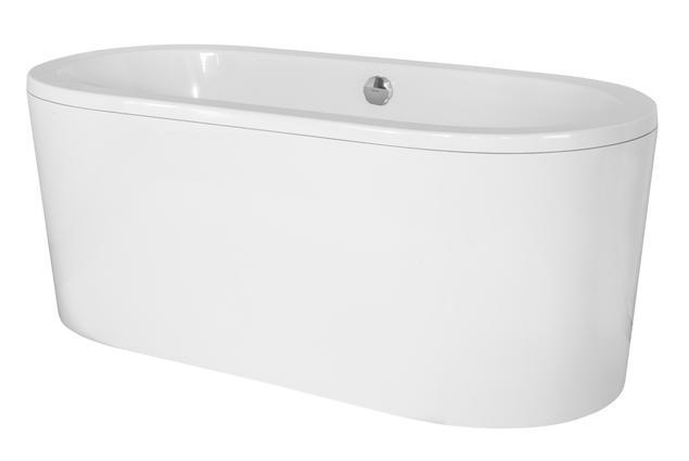 Czarna czy biała wanna do nowoczesnej aranżacji łazienki