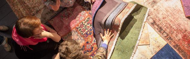 Salon z Ekskluzywnymi Dywanami Sarmatia Trading został oficjalnie otwarty 22 kwietnia 2015