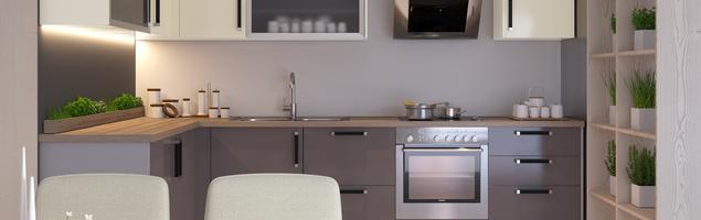 Meble kuchenne: systemy mebli modułowych Qubik