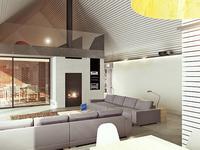 Projekt domu w Żernikach Małych. Akustyczny dom jednorodzinny