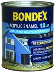 Biała emalia akrylowa 2,5 l Acrylic Enamel 12 lat BONDEX